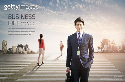 비즈니스, 풍경 (컨셉), 백그라운드, 정장, 고층빌딩 (회사건물)
