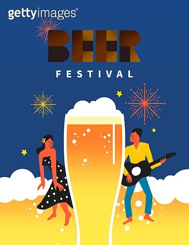 맥주, 페스티벌, 축제, 여름, 시원함
