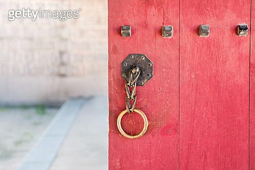 고궁, 한옥, 전통문화, 문고리, 문 (건물출입구), 대문 (인공구조물)