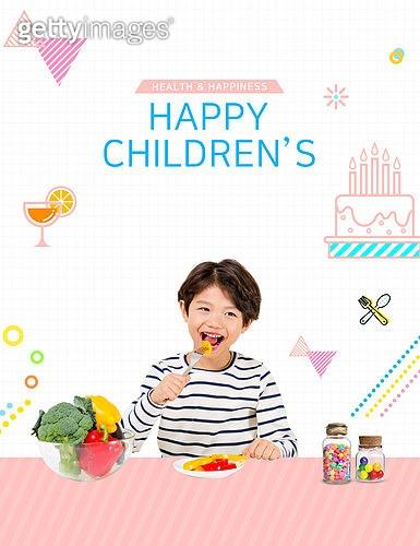 그래픽이미지 (Computer Graphics), 포스터, 레이아웃, 패턴, 컬러, 어린이 (인간의나이), 한국인, 초등학생, 상업이벤트 (사건), 소년