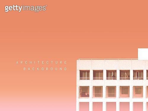 백그라운드, 건축, 건물외관 (건설물), 부분 (묘사), 단순 (컨셉), 카피스페이스 (구도), 풍경 (컨셉)