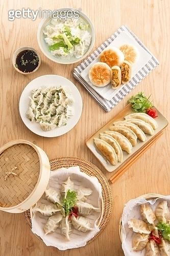 찐만두,군만두,물만두,세트,호빵