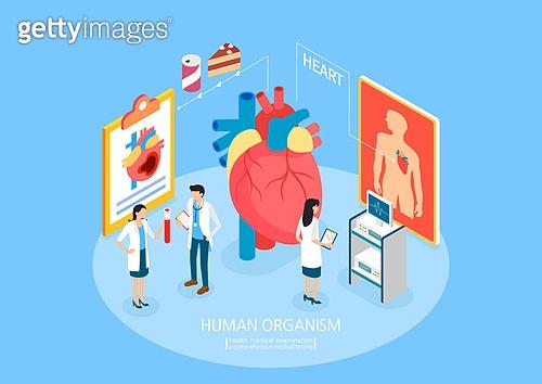 건강관리 (주제), 약 (의료품), 의학 (과학), 병원 (의료시설), 진찰 (의료행위), 의사, 소화기관 (Body Part), 관찰, 심장 (인체내부기관), 맥박표시 (모니터링장비)