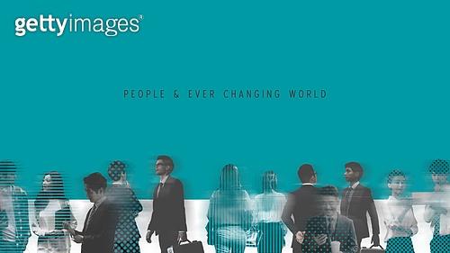 백그라운드, 여러명[6-10] (사람들), 변화, 속도, 개성 (컨셉), 여러민족 (인종), 바쁨