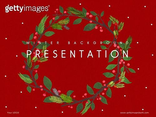 파워포인트, 메인페이지, 백그라운드, 식물학 (주제), 색연필, 자연 (주제), 잎, 겨울
