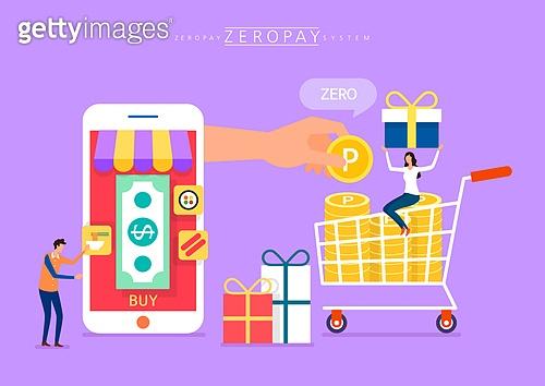 모바일결제 (금융아이템), 쇼핑 (상업활동), 스마트폰, 모바일쇼핑, 제로페이
