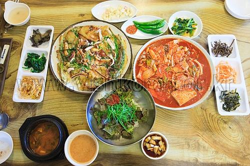 보문산 향토음식거리