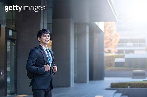 남성, 비즈니스, 구직 (실업), 신입사원 (화이트칼라), 성공, 미소, 희망