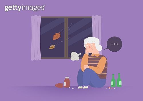 노인, 건강관리 (주제), 보험 (주제), 질병, 우울 (슬픔)