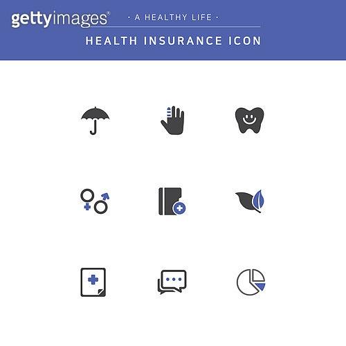 건강관리 (주제), 건강한생활 (주제), 의료보험, 아이콘, 아이콘세트, 치과