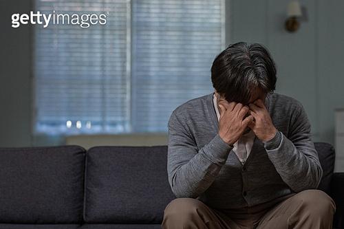 노인, 외로움 (컨셉), 우울 (슬픔), 절망 (슬픔)