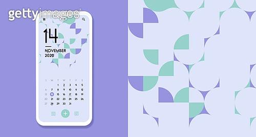 템플릿 (유저인터페이스), 패턴, 달력 (시간도구), 달력템플릿 (이미지), 모바일백그라운드, 스마트폰