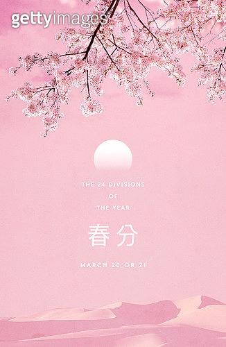 봄, 백그라운드, 절기, 계절, 꽃, 벚꽃
