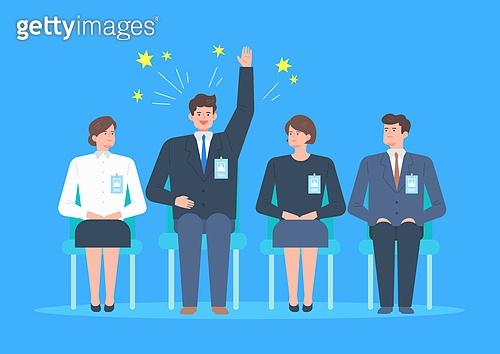 사람, 비즈니스, 사원, 정장, 채용 (고용문제), 취업준비생