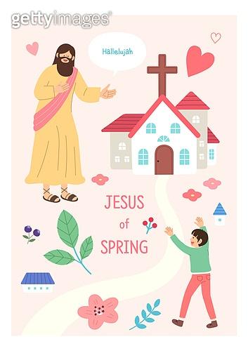 기독교, 예수 그리스도 (Christianity), 어린이 (인간의나이), 종교, 교회, 꽃, 하트