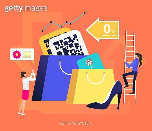 모바일결제 (금융아이템), 쇼핑 (상업활동), QR코드 (코딩), 스마트폰, 모바일쇼핑, 신용카드, 온라인쇼핑