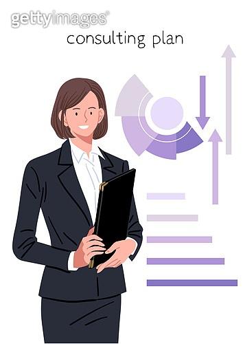컨설턴트, 조언, 비즈니스우먼, 보험설계사 (금융직), 금융