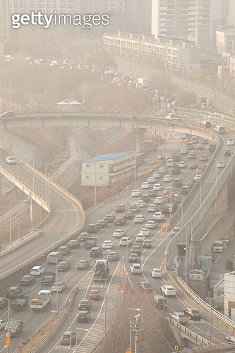 대기오염 (공해), 스모그, 대기오염, 서울 (대한민국), 한국 (동아시아), 대한민국 (한국), 공해, 환경오염, 공해 (환경오염), 강변북로, 교통, 교통체증 (교통)