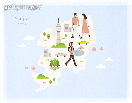 대한민국 (한국), 랜드마크, 여행, 지도, 대구 (대한민국)