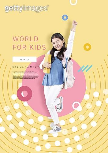 그래픽이미지, 편집디자인, 레이아웃, 프레임, 가족, 가정의달, 어린이 (인간의나이), 5월, 패턴, 소녀