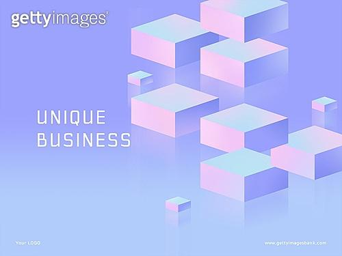 파워포인트, 메인페이지, 개성 (컨셉), 그라데이션, 착시, 기하학모양 (도형)