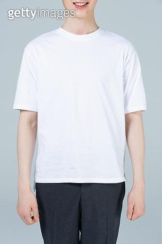 남성, 흰색 (색상), 티셔츠, 반팔 (소매)