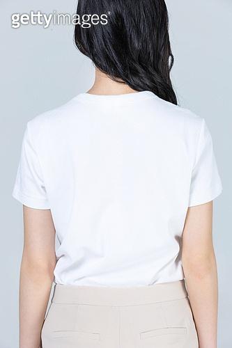 흰색 (색상), 티셔츠, 반팔 (소매)