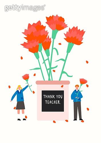 5월, 기념일, 가정의달, 가정의달 (홀리데이), 카네이션, 카네이션 (패랭이꽃), 스승의날, 스승의날 (홀리데이), 학생, 교복