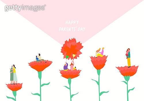 5월, 기념일, 가정의달, 가정의달 (홀리데이), 카네이션, 카네이션 (패랭이꽃), 어버이날 (홀리데이), 부모