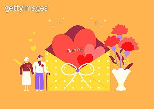 가정의달 (홀리데이), 5월, 기념일, 사람, 카네이션, 꽃, 카네이션 (패랭이꽃), 선물 (인조물건), 감사, 어버이날 (홀리데이), 부모 (가족구성원)