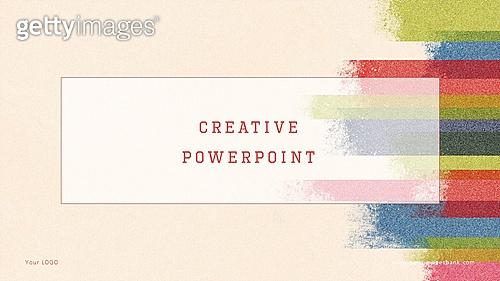 파워포인트, 메인페이지, 백그라운드, 레트로스타일 (컨셉), 목탄화, 패턴, 선