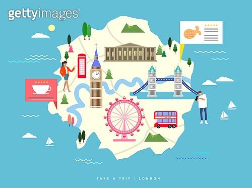 일러스트, 랜드마크, 여행, 해외 (지리적인장소), 세계의관광지 (랜드마크), 랜드마크 (묘사)