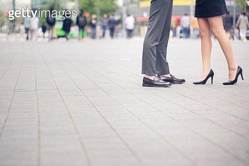 한국인, 커플, 데이트, 사람발 (주요신체부분)