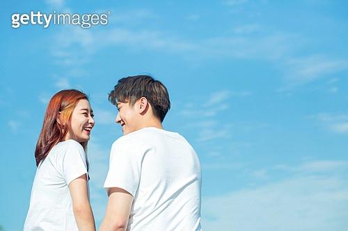 이성커플, 데이트, 한국인, 스킨십