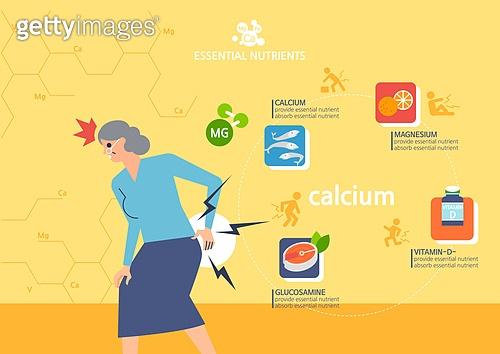 건강한생활 (주제), 건강관리, 영양제, 영양제 (건강관리), 칼슘, 노인 (성인), 멸치, 비타민