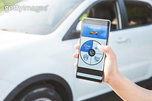 자동차, 카셰어링, 스마트폰, 모바일앱 (인터넷)