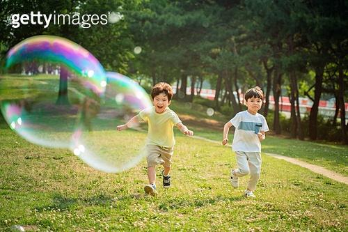 한국인, 어린이 (인간의나이), 초등학생, 유치원생, 여름, 여름방학, 방학, 유아교육, 자유, 행복, 즐거움 (컨셉), 재미, 행복 (컨셉)