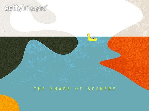 백그라운드, 풍경 (컨셉), 재질 (물체묘사), 단순 (컨셉), 틸트시프트 (이미지테크닉)