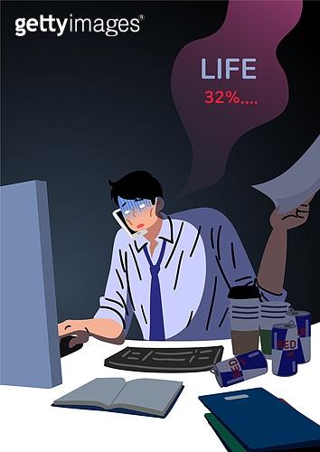 중독, 중독자 (역할), 정신건강, 정신건강 (주제), 일 (물리적활동), 과로 (컨셉), 야간근무 (고용문제)