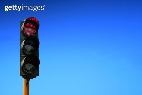 Red Signal against sky