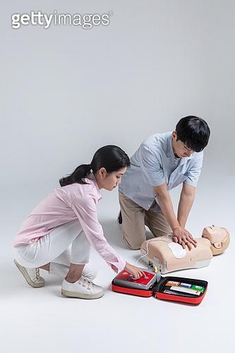 구출 (컨셉), 안전교육 (안전), 긴급 (컨셉), 응급서비스직업 (직업), 안전교육, 응급처치, 심폐소생술, 심폐소생술인체모형, 심장마비, 응급장비 (장비)