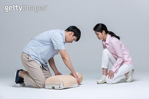 구출 (컨셉), 안전교육 (안전), 긴급 (컨셉), 응급서비스직업 (직업), 안전교육, 응급처치, 심폐소생술, 심폐소생술인체모형, 심장마비