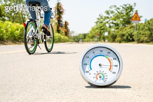 라이프스타일, 서울 (대한민국), 여름, 폭염, 뜨거움 (컨셉), 폭염 (자연현상), 여름 (계절), 아지랑이, 온도계