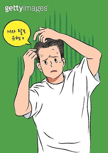 탈모, 탈모 (질병), 질병, 당혹, 머리카락, 남성 (성별)
