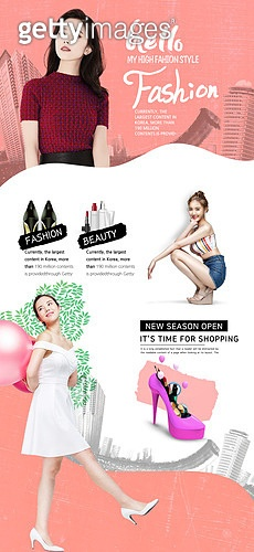웹템플릿, 메인페이지 (이미지), 기하학모양 (도형), 이벤트페이지, 상업이벤트 (사건), 세일 (사건), 쇼핑 (상업활동), 여성, 패션, 여름, 휴가 (주제)