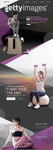 웹템플릿, 메인페이지 (이미지), 이벤트페이지, 레이아웃, 운동, 다이어트, 근육질 (사람체격), 요가, 바디라인 (날씬함), 건강한생활 (주제), 한국인, 여성