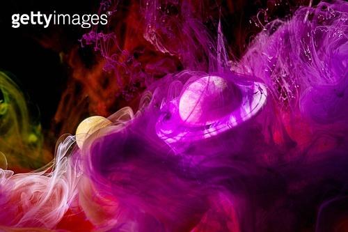 페인트 (예술도구), 잉크, 수채물감, 파장, 파문 (물체묘사), 번짐 (이미지), 우주 (자연현상), 빔 (상태), 컬러 (Image Type), 행성, 미래, 성운, 은하, 창의성, 태양계, 토성, 화성 (행성), 금성, 위성, 천왕성, 수성, 태양, 빨강, 보라