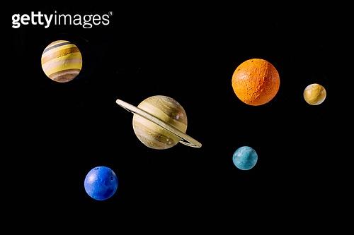 우주 (자연현상), 빔 (상태), 컬러 (Image Type), 행성, 미래, 성운, 은하, 창의성, 태양계, 토성, 화성 (행성), 금성, 위성, 천왕성, 수성, 태양, 해왕성