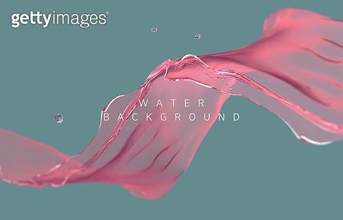 백그라운드, 백그라운드 (주제), 합성 (Computer Graphics), 물 (자연현상), 액체, 흐름, 3D, 스플래싱 (움직이는활동)