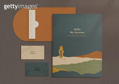 스테이셔너리 (이미지), 종이, 재질, 백그라운드, 봉투, 초대장, 편지, 가을
